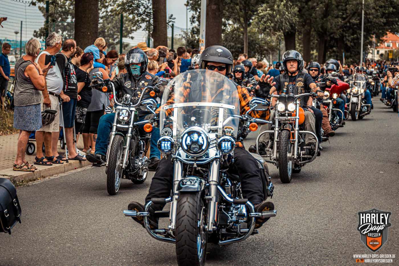 Harley Days Dresden 2019, Biker Parade