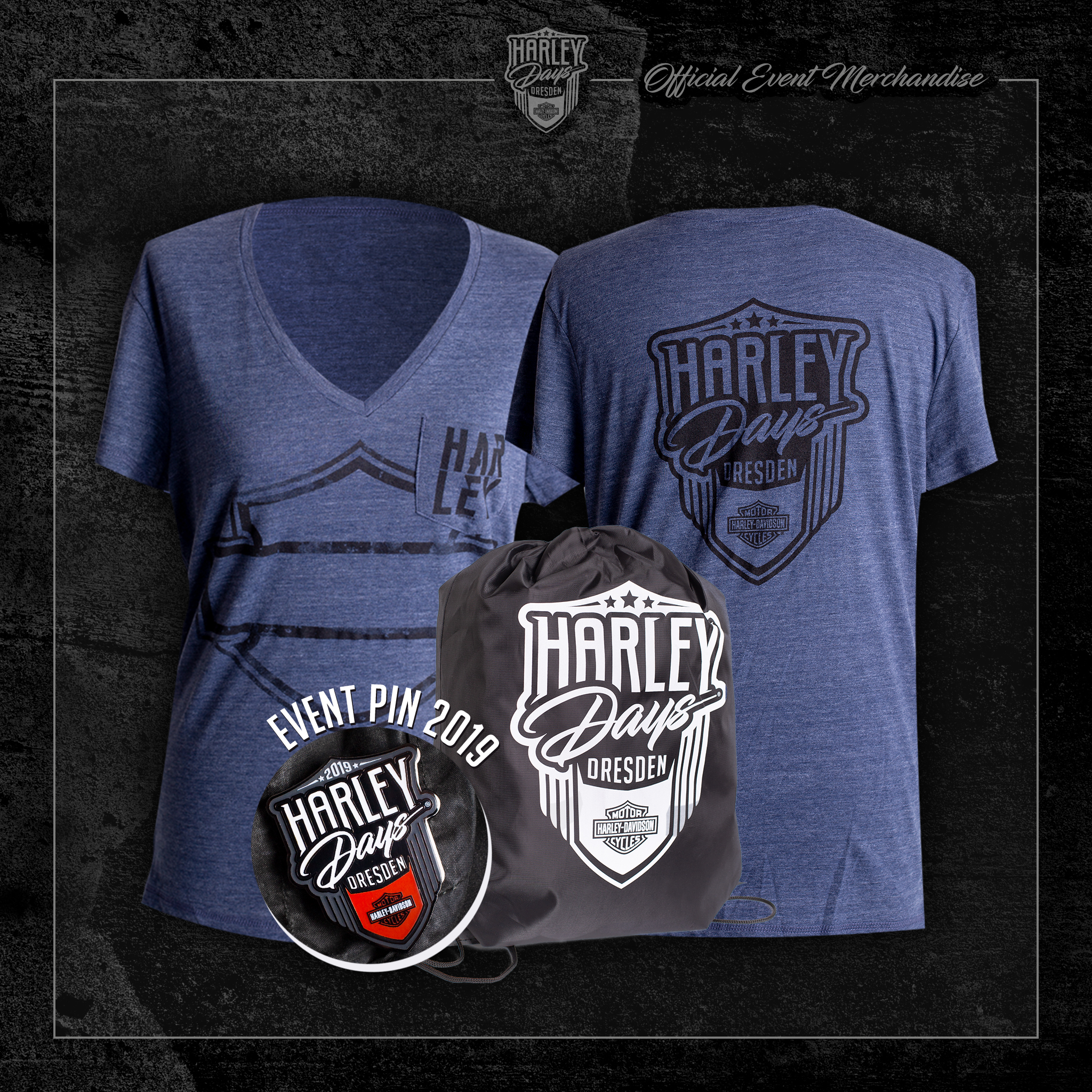 Harley Days Dresden 2019 Merchandise Bundle